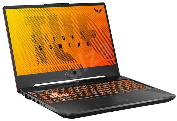 ASUS TUF Gaming F15 FX506LI-HN011T Bonfire Black - Herný notebook