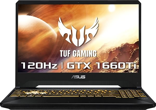 ASUS TUF Gaming FX505DU-AL130T Stealth Black - Herný notebook