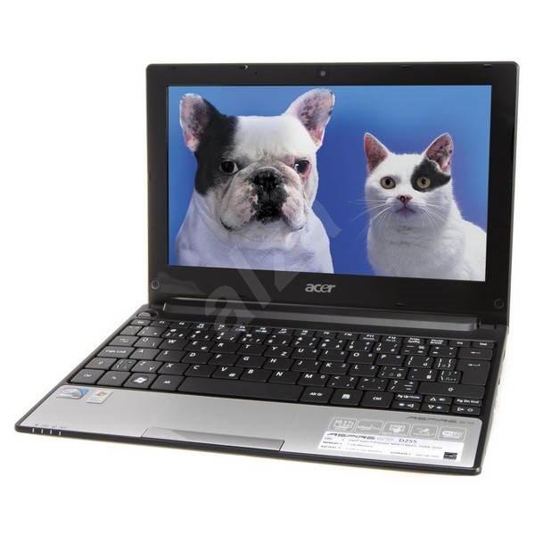 Acer Aspire ONE D255 stříbrno-bílý - Notebook