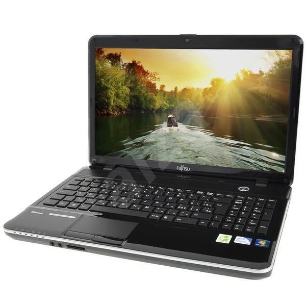 Fujitsu Lifebook AH531 Garnet Red - Notebook