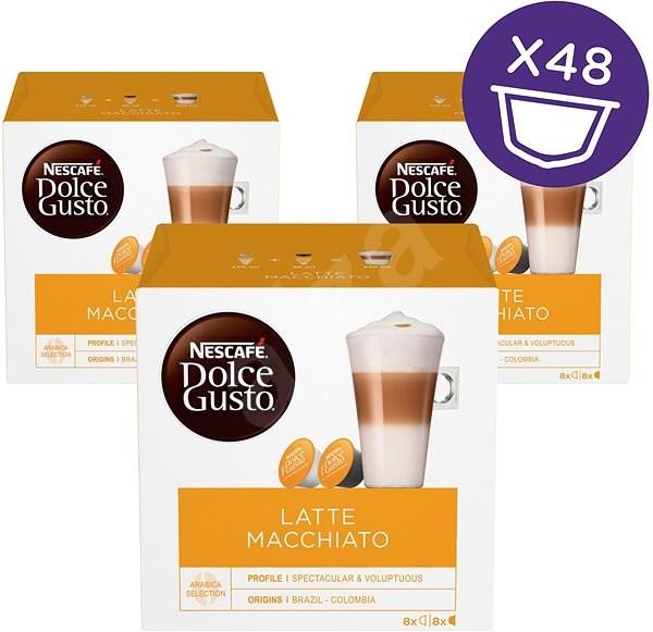 NESCAFÉ Dolce Gusto Latte Macchiato, 3 balenia - Kávové kapsuly