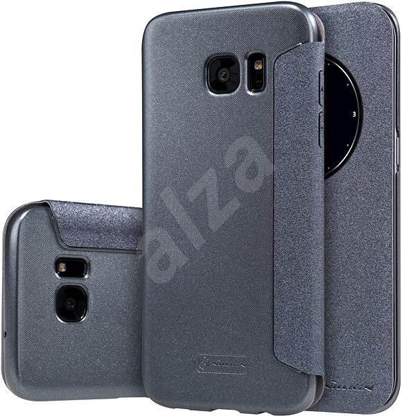 Nillkin Sparkle S-View pre Samsung G935 Galaxy S7 čierna - Puzdro na mobil 5977eb218ad