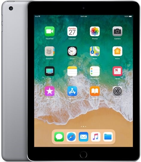 iPad 128 GB WiFi Vesmírne sivý 2018 - Tablet