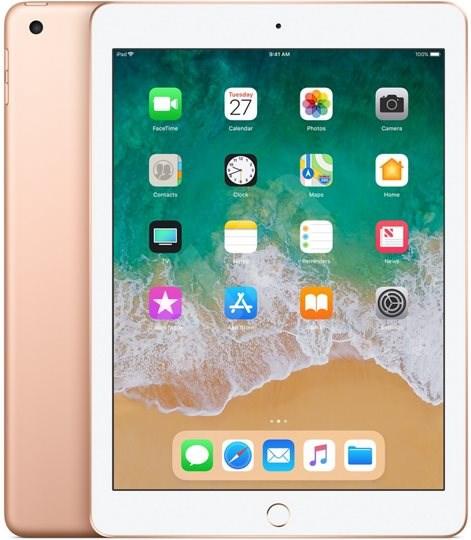 iPad 128 GB WiFi Zlatý 2018 - Tablet