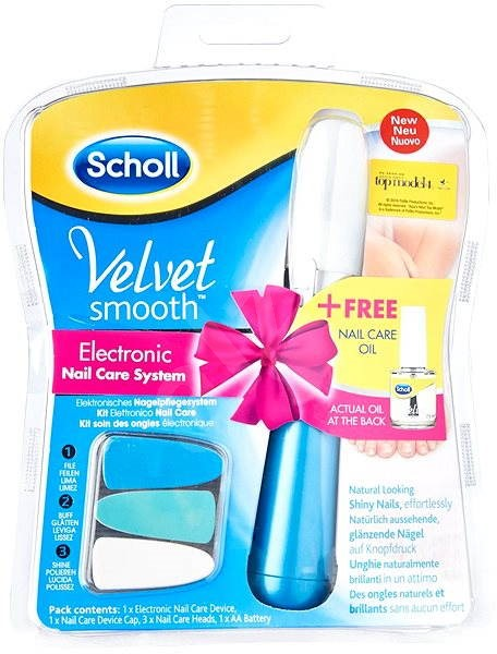 ffb0d36177c8e Scholl Velvet Smooth Nail Care modrý set - Sada | Trendy