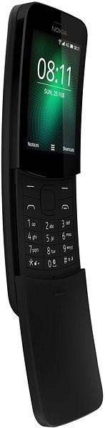 Nokia 8110 4G Black Dual SIM - Mobilný telefón