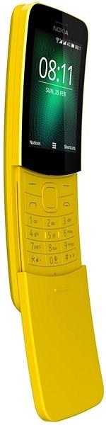 Nokia 8110 4G Yellow Dual SIM - Mobilný telefón