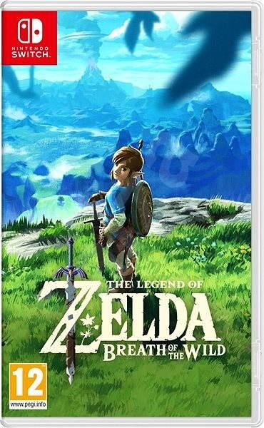 The Legend of Zelda  Breath of the Wild - Nintendo Switch - Hra na konzolu 6152fae279a