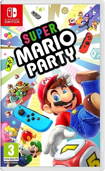 fc421e4bc Super Mario Party – Nintendo Switch - Hra na konzolu | Alza.sk