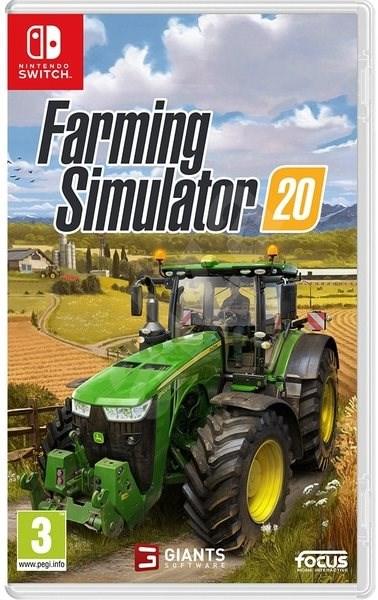 Farming Simulator 20 - Nintendo Switch - Hra na konzolu