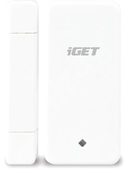 iGET SECURITY M3P4 - magnetický bezdrôtový detektor dverí/okien - Pohybový senzor