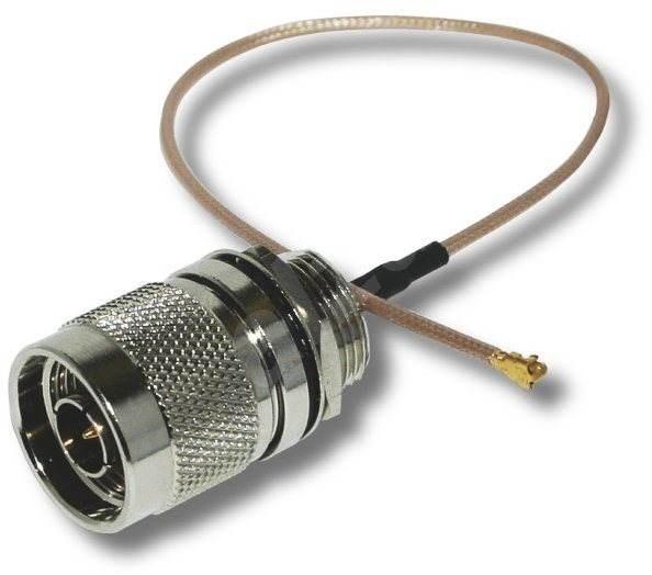 Redukcia (pigtail), 2,4/5 GHz, N-Male na U.FL-Female - Redukcia