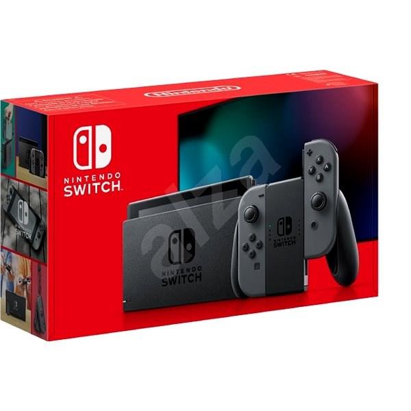 Nintendo Switch – Grey Joy-Con - Herná konzola