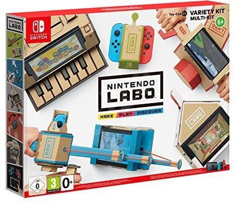 Nintendo Labo – Toy-Con Variety Kit pro Nintendo Switch - Hra na konzolu