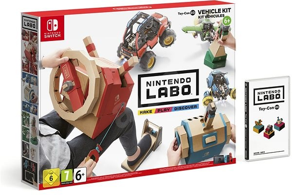 Nintendo Labo – Toy-Con Vehicle Kit pre Nintendo Switch - Hra na konzolu