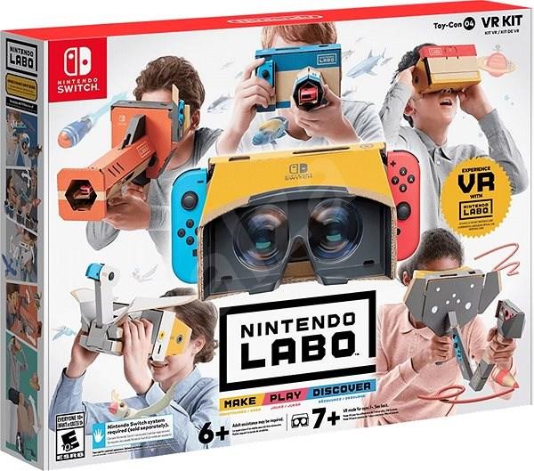 0afb7f175 Nintendo Labo – VR Kit pre Nintendo Switch - Hra na konzolu | Alza.sk