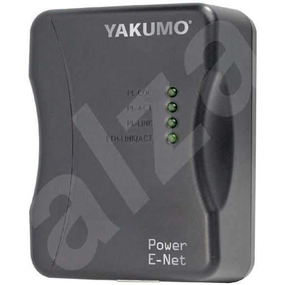 Yakumo Power E-Net RJ45 adaptér pro LAN přes zásuvku 220V -