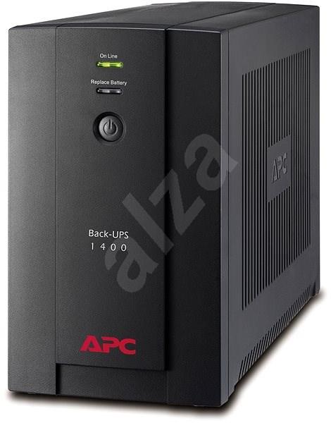 APC Back-UPS BX 1400 eurozásuvka - Záložný zdroj