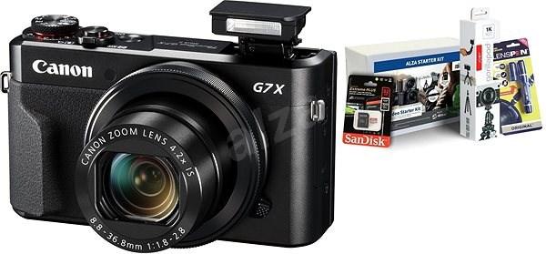 Canon PowerShot G7 X Mark II + Alza Foto Starter Kit - Digitálny fotoaparát