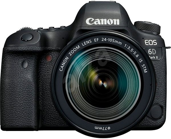 c0c54942f Canon EOS 6D Mark II + 24–105 mm f/3,5 – 5,6 IS STM - Digitálny ...