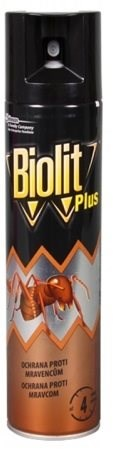 BIOLIT Plus sprej proti mravcom 400 ml - Odpudzovač hmyzu