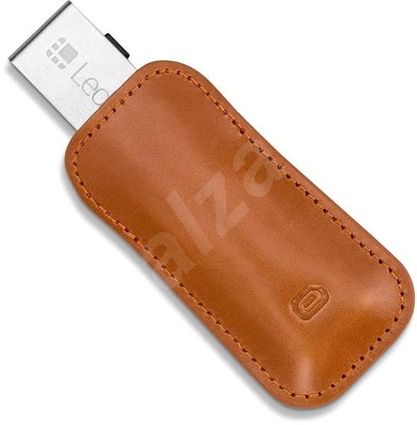 Odzu Leather Case Brown Ledger Nano S - Kožené puzdro