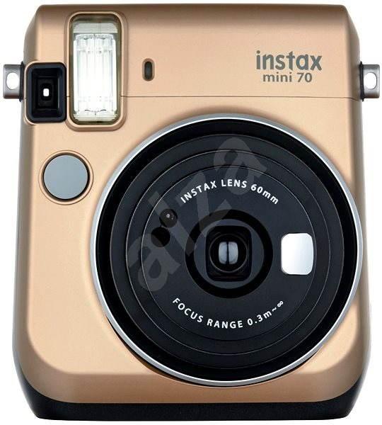 Fujifilm Instax Mini 70 zlatý - Instantný fotoaparát