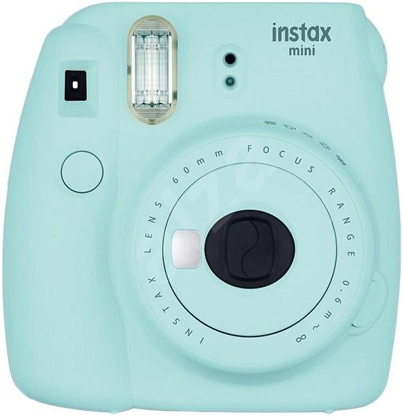 Fujifilm Instax Mini 9 Svetlomodrý + film 1×10 + puzdro - Instantný  fotoaparát d9d61f5cfc2