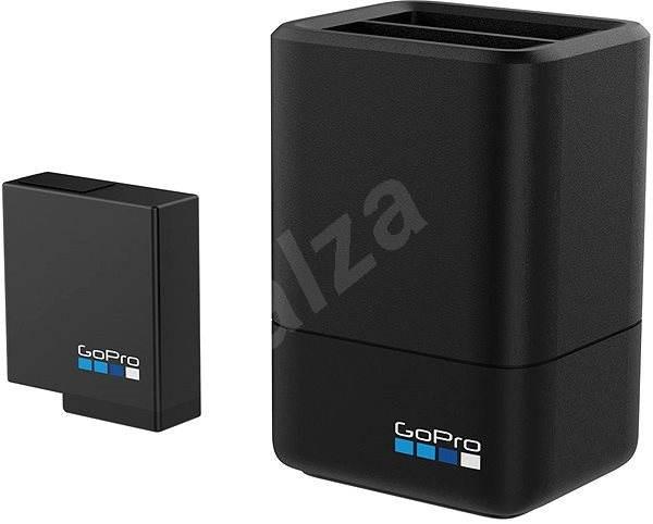 GOPRO Dual Battery Charger + Battery HERO5 Black - Nabíjačka