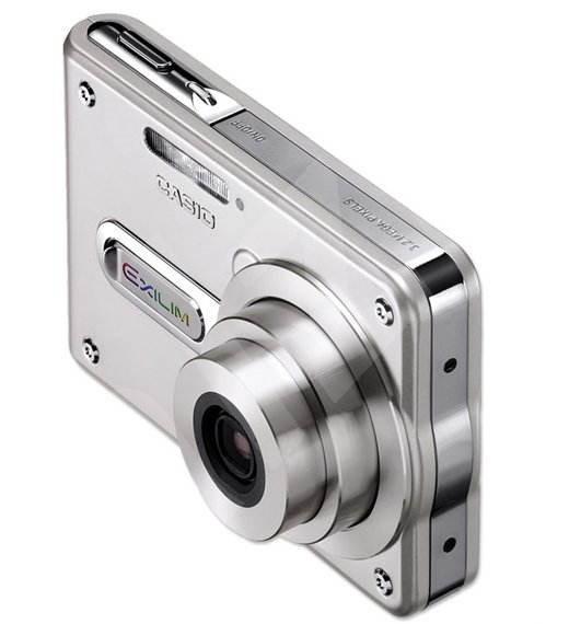 Casio EX S100 Exilim - stříbrný (silver), 3.34 mil. bodů, interní paměť 10 MB + SD/MMC karty, 2.8x o - Digitální fotoaparát