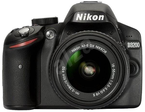 Nikon D3200 + Objektív 18-55 AF-S VR II - Digitálna zrkadlovka