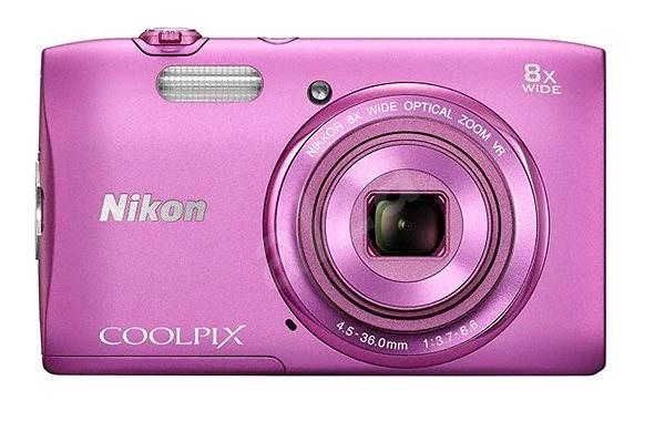 Nikon COOLPIX S3600 pink - Digitálny fotoaparát