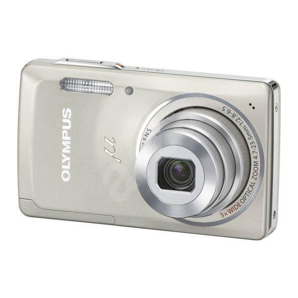 Olympus [mju:] 5010 stříbrný - Digitálny fotoaparát