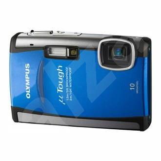Olympus [mju:] TOUGH-6000 Digital modrý - Digitálny fotoaparát