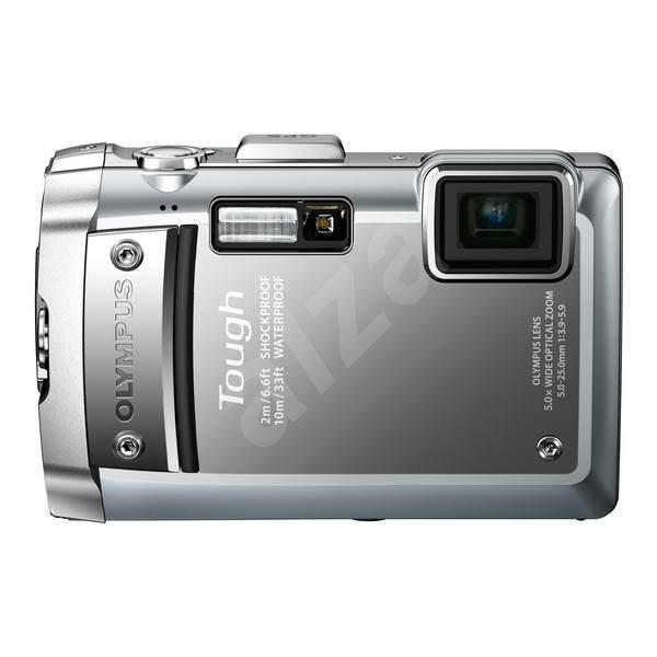 Olympus TOUGH TG-810 silver - Digitální fotoaparát
