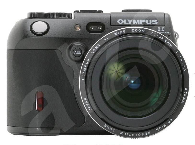 Olympus C-8080 Wide Zoom - 8,31 mil. bodů, zoom optický 5x / digitální 3x -