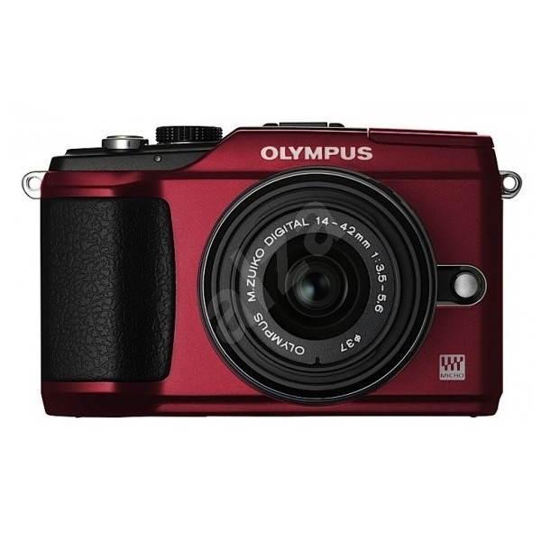 Olympus E-PL2 + Objektivy 14-42mm II + 40-150mm red/ black - Digitální fotoaparát