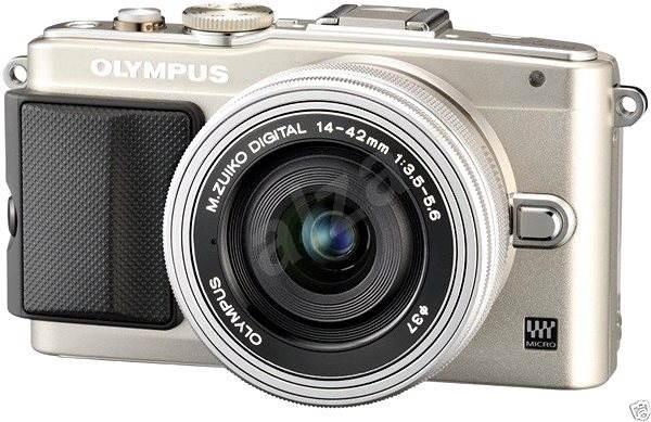 Olympus PEN E-PL6 + objektív 14-42mm EZ strieborný / strieborný + 8GB SD FlashAir karta - Digitálny fotoaparát