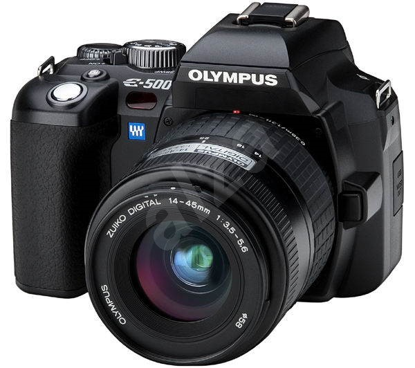 Olympus E-500 KIT - zrcadlovka 8.89 mil. bodů + objektiv 14-45 mm/ F3.5-5.6 -