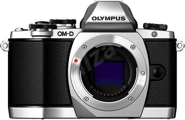 Olympus E-M10 BODY silver - Digitálny fotoaparát