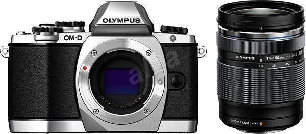 Olympus E-M10 silver / black + 14-150 II - Digitálny fotoaparát