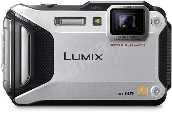 f6e886da41 Panasonic LUMIX DMC-FT5 strieborný - Digitálny fotoaparát