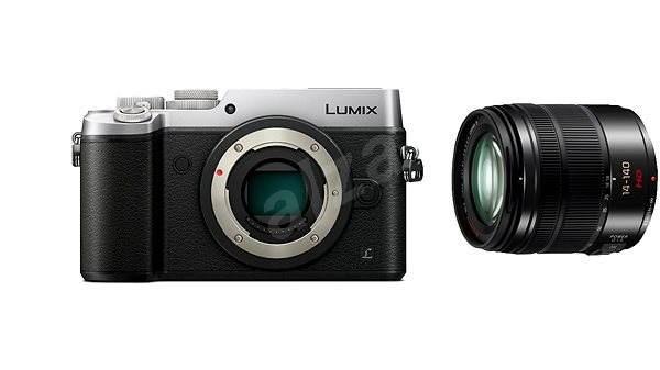 Panasonic LUMIX DMC-GX8 strieborný + objektív 14–140 mm/F3.5–5.6 ASPH - Digitálny fotoaparát