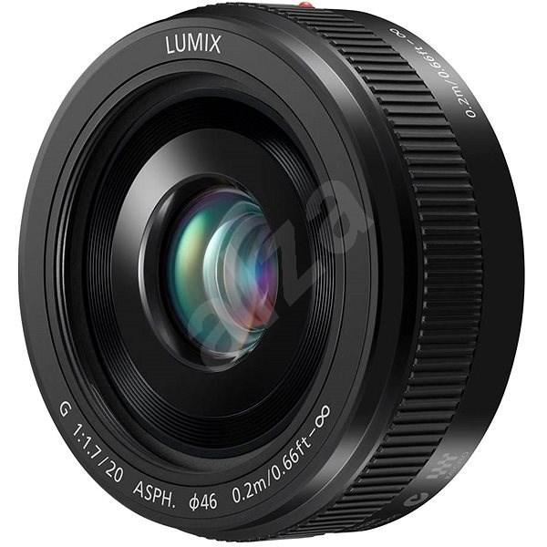 Panasonic Lumix G 20 mm f/1,7 čierny - Objektív