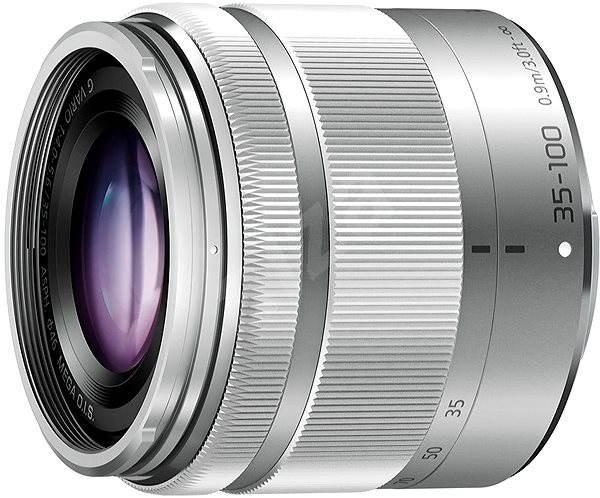 Panasonic Lumix 35-100 mm F4,0-5,6 ASPH Mega OIS strieborný - Objektív