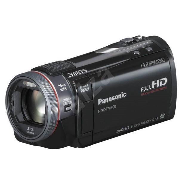 Panasonic HDC-TM900EP-K černá - Digitální kamera