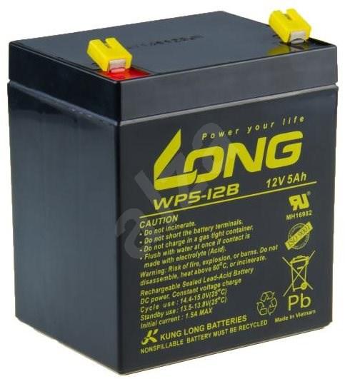 Long 12 V 5 Ah olovený akumulátor F1 (WP5-12B F1) - Nabíjacia batéria