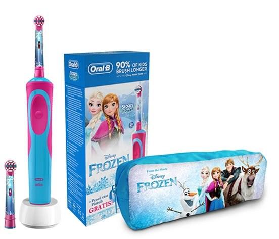 c2cb29f74 Oral-B Vitality Kids Frozen + penál - Elektrická zubná kefka pre deti