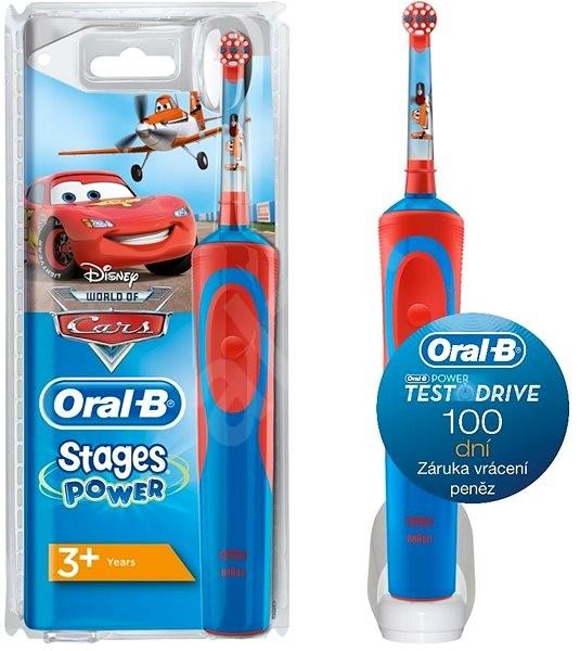 fbb4ea5f7 Oral-B Vitality Cars - Elektrická zubná kefka pre deti   Alza.sk