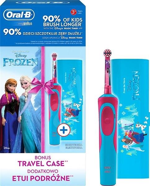 440b6dd79 Oral-B Vitality Frozen + cestovné puzdro - Elektrická zubná kefka ...